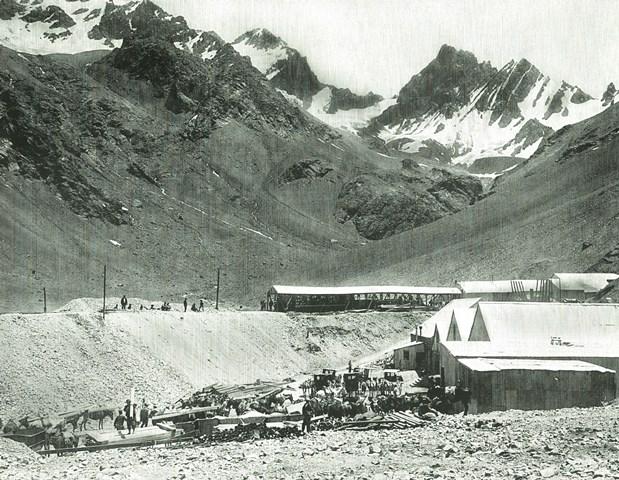 Estación CARACOLES - 1906